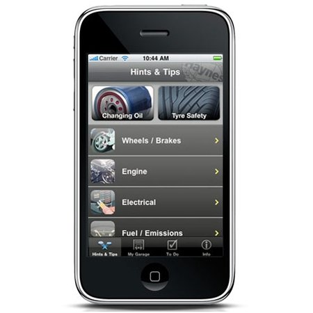Haynes manuals hit the iPhone