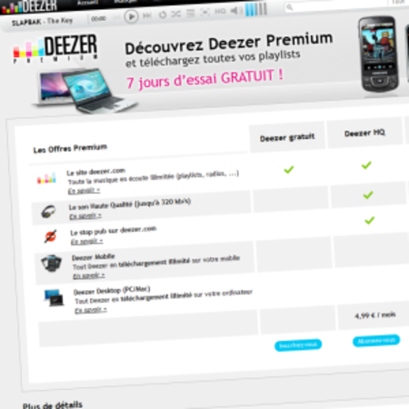 Deezer launches premium desktop client