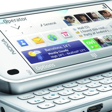 Nokia N97 Mini available in white from Phones 4U