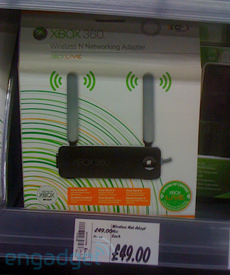 Xbox Wireless-n adaptor on sale now?