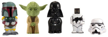 Star Wars USB drives let you feel the force while saving stuff
