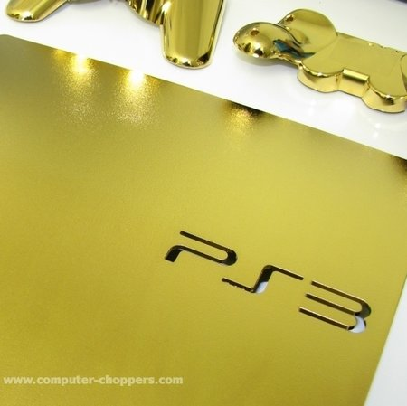 PlayStation 3 gets gold plated