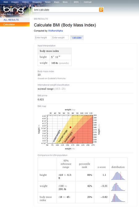 Bing turns to Wolfram Alpha to help with search results
