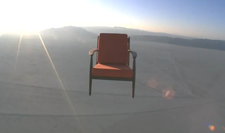Video: Toshiba Space Chair advert aims to confuse