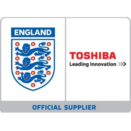 Toshiba becomes official tech supplier to England football team