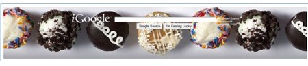 iGoogle adds food themes