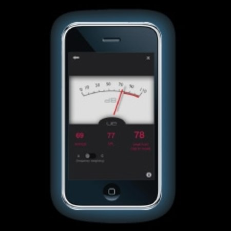 Ultimate Ears iPhone app offers decibel meter