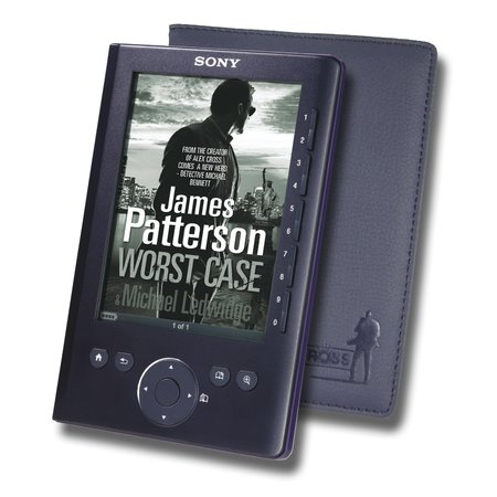 Sony offers James Patterson-themed Reader
