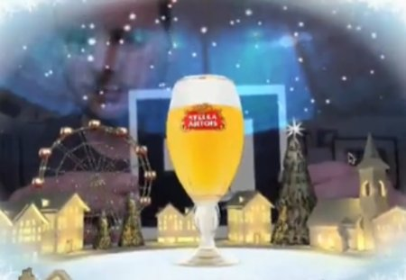 VIDEO: Stella Artois offers augmented reality Christmas card