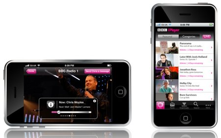 BBC iPlayer iPhone app leaks