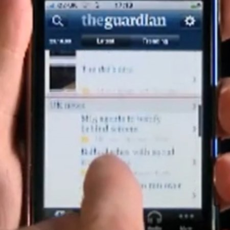 VIDEO: The Guardian launches £2.39 iPhone app