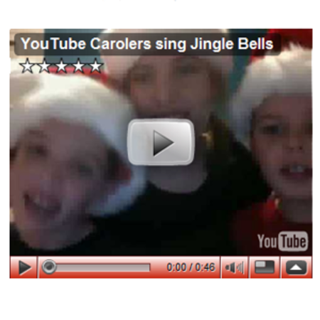 Google opens caroling channel on YouTube