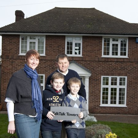 TalkTalk buys naming rights to family home