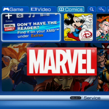 PSP gets digital comic store in the US