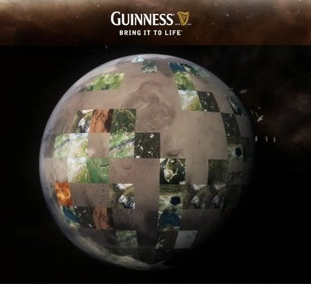 Guinness offers planet-making Google Earth tool