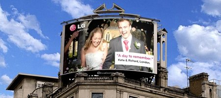 "LG calls for ""Good Moments"" pics to be shown on giant Piccadilly Circus display"