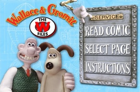 Wallace & Gromit iPhone comic a success