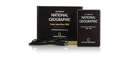 National Geographic gets hard drive edition