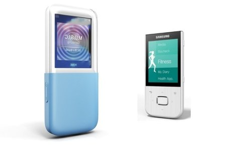 Samsung launches IceTouch and MyFit media players