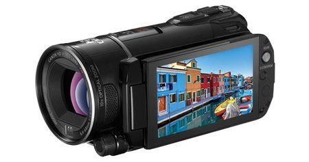 Canon blasts out four new Legria camcorders