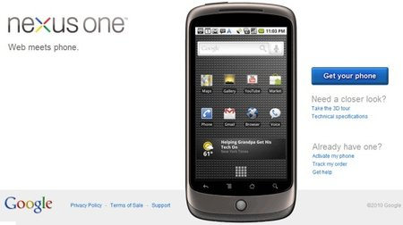 "Nexus One coming to Vodafone in ""few short weeks"""
