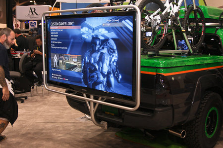 Tailgate TV sees your tow bar turned into entertainment hub