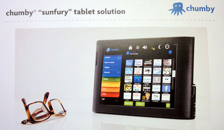 Chumby planning Sunfury tablet PC