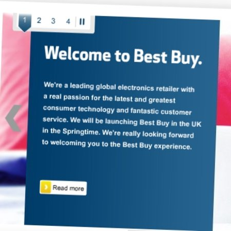 Best Buy launches into UK market with a website