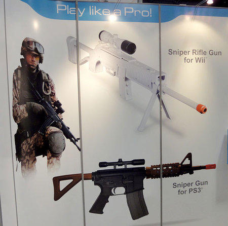 Wii gets sniper rifle accessory