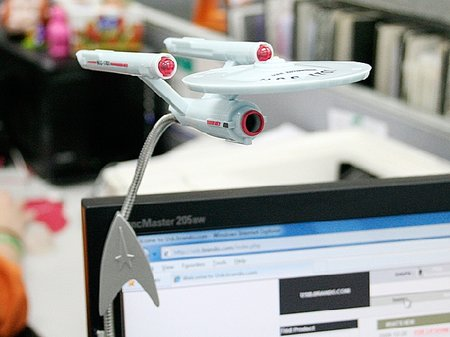 Star Trek Enterprise webcam launches