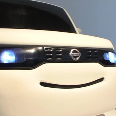 VIDEO: Nissan invents smiling car