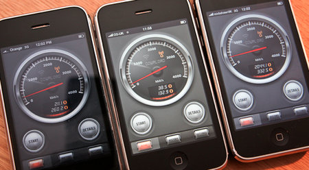 iPhone network test: Vodafone vs Orange vs O2