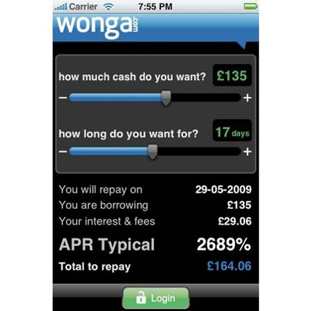 Need a loan? There's an iPhone app for that