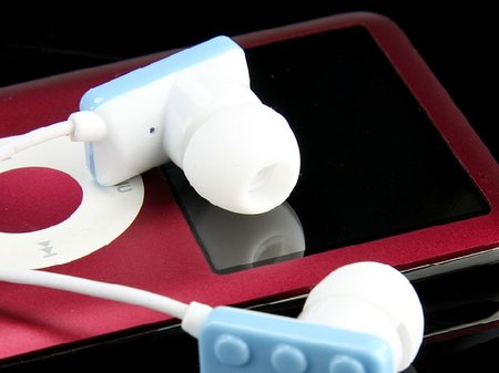 LEGO-like earphones available