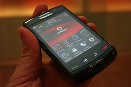 Vodafone's exclusive on the BlackBerry Storm 2 due to end