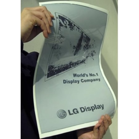 LG Display reveals 19-inch flexible epaper display