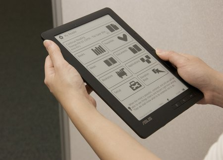 Asus reveals ebook reader in Flickr pics