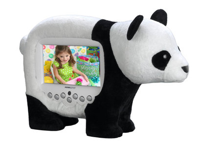 HANNspree offers animal-themed digi photo frames