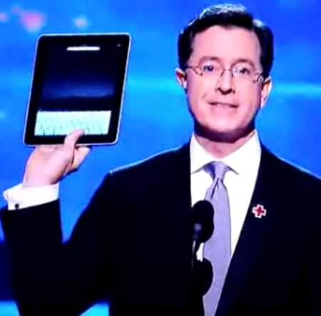 VIDEO: Apple iPad makes an appearance at the Grammys