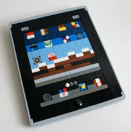 Apple iPad gets recreated in LEGO