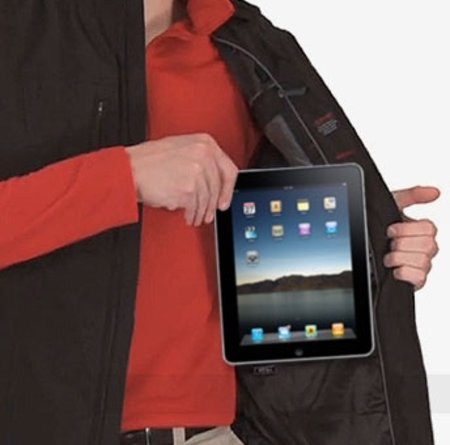 Scottevest's Travel Vest boasts an iPad pocket