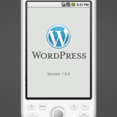 VIDEO: Wordpress app for Android released