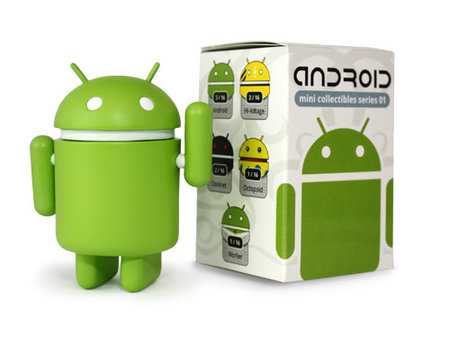 Vinyl Android collectibles coming soon