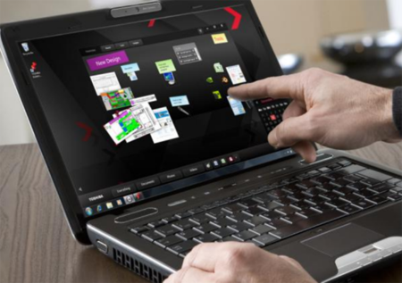 Toshiba reveals touchscreen U500-1EX laptop