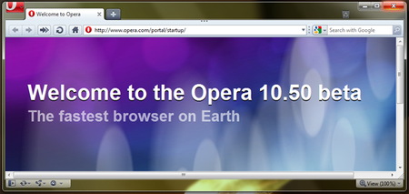 Opera releases 10.50 beta for Windows