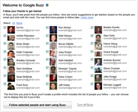 Google Buzz gets even more changes