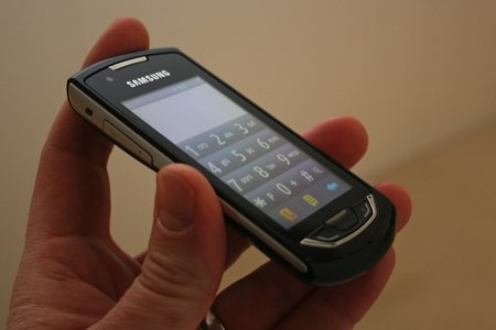 Samsung Monte S5620 hands-on