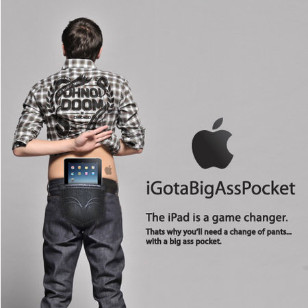 iGotaBigAssPocket concept jeans revealed for iPad owners