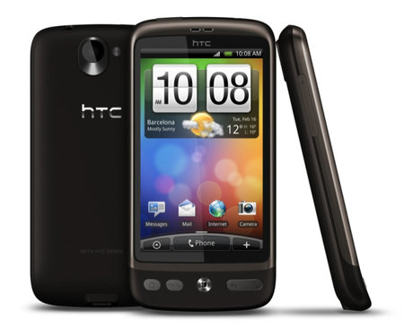 HTC Desire also headed to 3