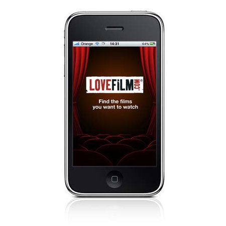 LOVEFiLM offers free iPhone app - photo 1